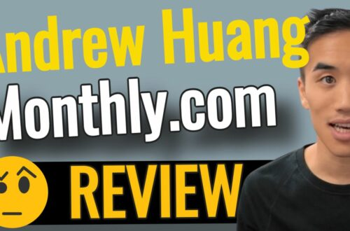 Andrew Huang MONTHLY review