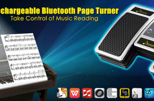 Bluetooth Page Turner Pedal for Tablets iPhone Mac PC by Donner First Look Review Top