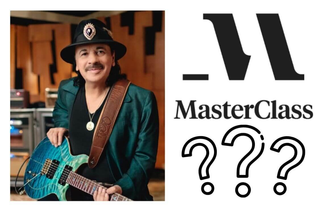 Carlos Santana Masterclass Review