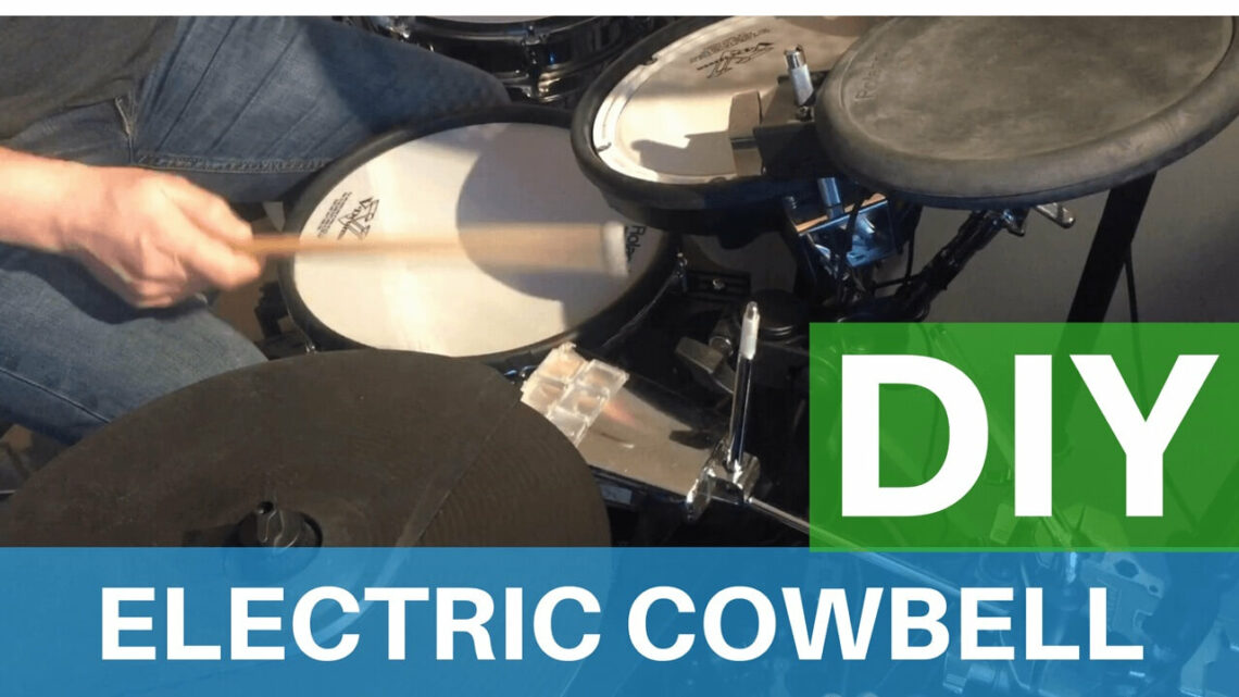 DIY Electronic Drum Pads Homemade Cowbell