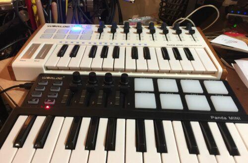 Worlde Tuna and Panda Mini MIDI Keyboard Controller Reviews