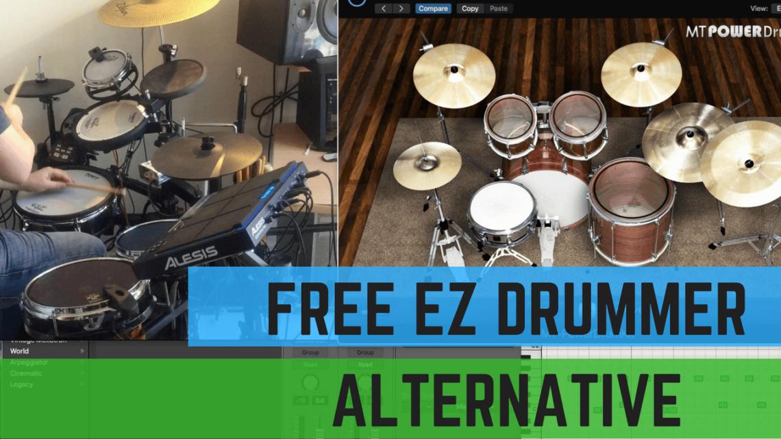 ezdrummer free alternative