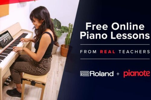 free piano lessons online pianote roland