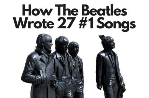 how the beatles wrote 27 #1 songs