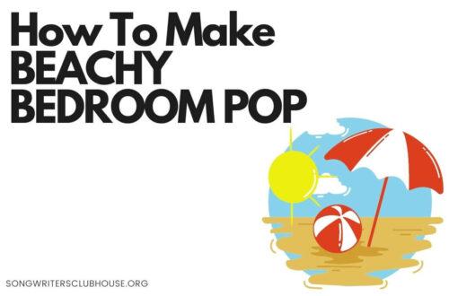 how to make beachy bedroom pop