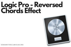 logic pro - reversed chords effect